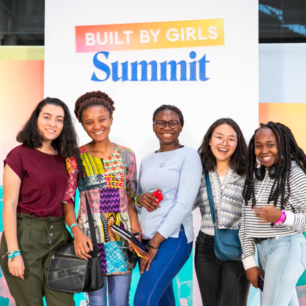 BUILT BY GIRLS Summit